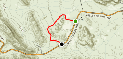 Scenic Loop Road Map