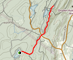 Sawmill Lake To Monument High Point Map