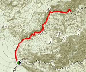Fall Canyon Trail Map