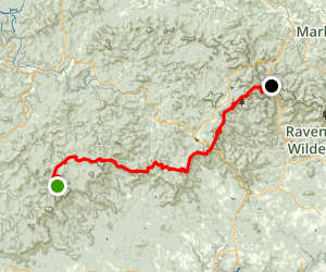 Appalachian Trail: Springer Mt. to Neels Gap Map