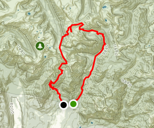Williams Creek Trail to CDT/Squaw Pass to Cimarrona Trail Map