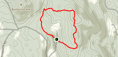 The Lost Mine Trail Map