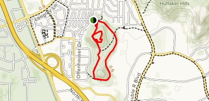 Huffaker Park Lookout Trail Map