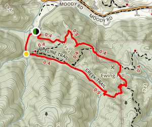 Ewing Hill Loop Map