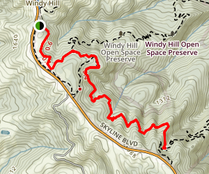 Lost Trail Map