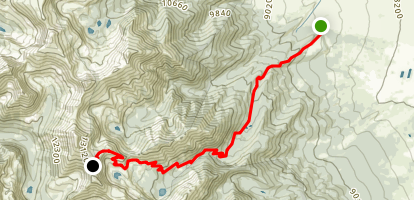 Hermit Pass Map