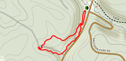 Mineral Springs Loop Trail Map