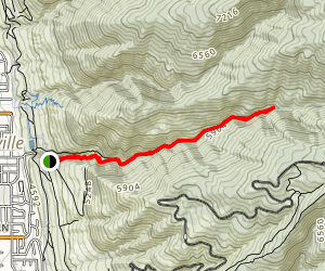 Centerville Canyon Via Deuel Creek Trail Map
