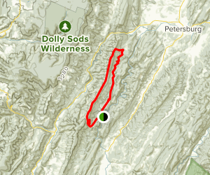 North Fork MTB Loop Map