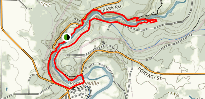 Letchworth State Park Gorge Trail Map