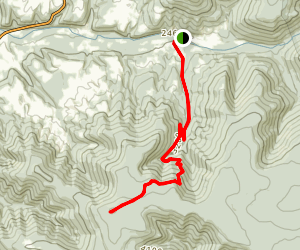 Mount Porte Crayon Trail Map