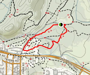 Shady Rest Loop Trail Map