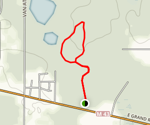 Ted Black Woods White Loop via Yellow Trail Map