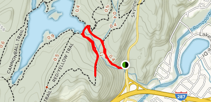 Red Trail Overlook Map