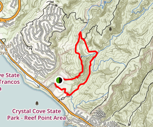 Mach One and El Moro Canyon Map