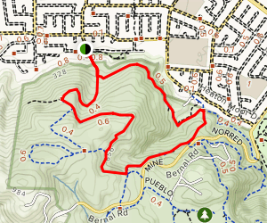 Joice, Bernal Hill, Norred Loop Map