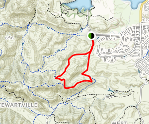 Stewartville, Ridge and Contra Loma Loop Map