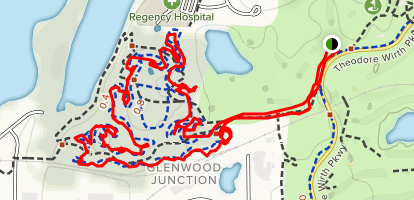 Theodore Wirth Loop Map