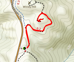 Herb Grench Trail Map