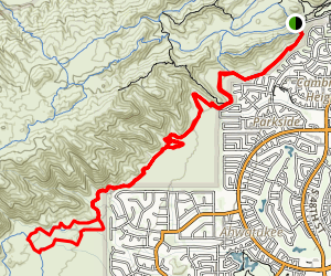 Desert Classic to Double Secret Loop Map