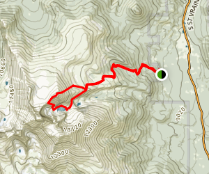 Mount Lady Washington and Chasm Lake Map