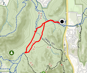 Charles M. Christiansen Trail 100 to Trail 306 Loop Map