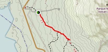 Arenal Volcano Trail Map