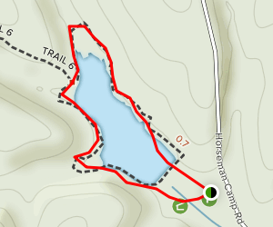 Strahl Lake Map