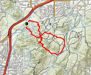 Charles M. Christiansen Trail and Voaz Trail Loop Map