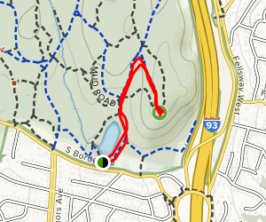 Pine Hill  Map