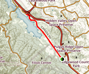 Canada Road Trail Map