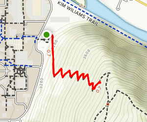"""The """"M"""" Trail Map"""