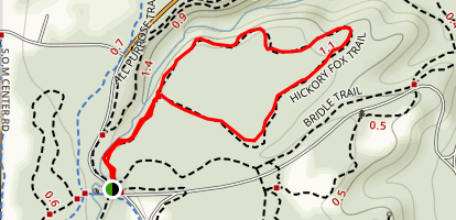 Hickory Fox Trail Map