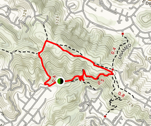 Sorich/Tomahawwk Trail to Sorich Park Trail Loop Map