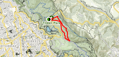 Quarry Trail to Lower Big Springs Trail Loop Map