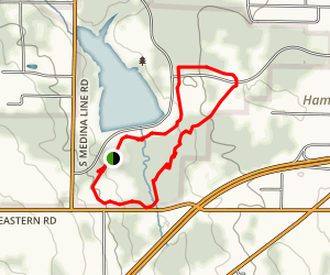 Silver Creek Metro Park Loop Map
