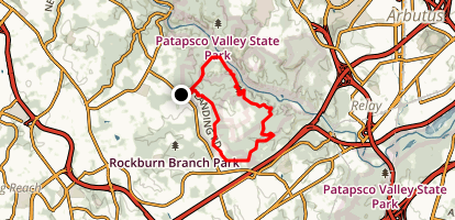 Patapsco State Park Loop Map