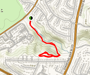 Sycamore Canyon Park Trail Map