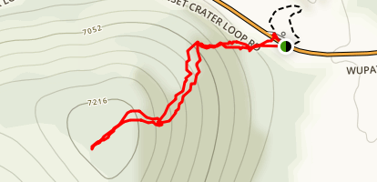 Lenox Crater Trail Map