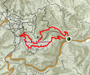 Ridge Trail and Sprig Trail Map