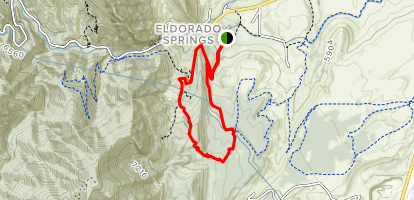 Goshawk Ridge Map