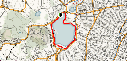 Jamaica Pond Map