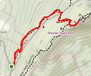 Mount Holyoke Summit Map