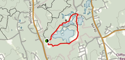 Leach Pond Trail Map