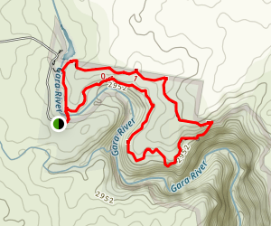 Threlfall Track Map