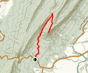 Strickler Knob Map