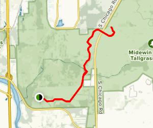 Midewin- Henslow Trail Map
