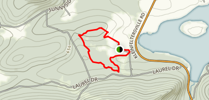 Middle Creek Short Conservation Trail Loop Map