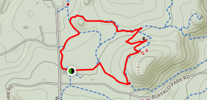 Homestead, Silver Fox, and Ponderosa Loop Map