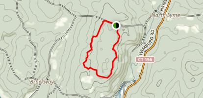 Mount Archer Loop Map